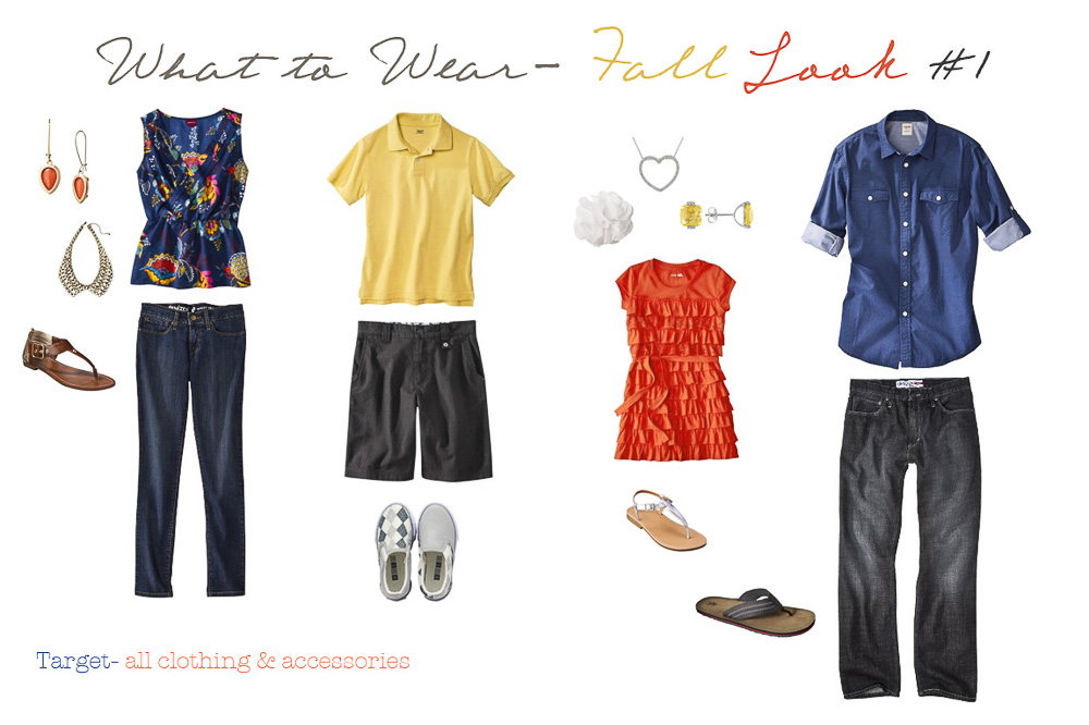 What to Wear Style Guide Fall by Silver Orchid Photography