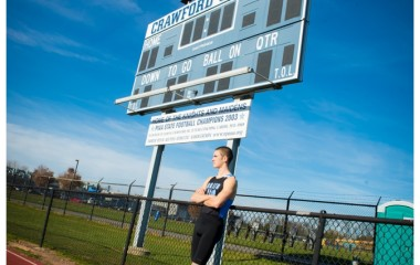 north penn high school senior track