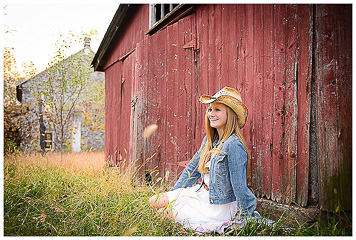 senior photography silver orchid photography farm barn rustic