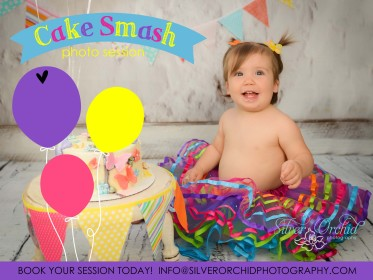 Celebrate Baby's First Birthday With A Cake Smash Photo Session