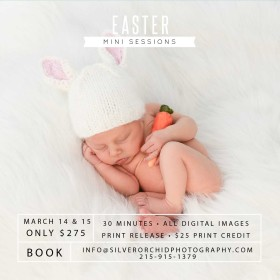 Easter Mini Sessions! March 14 & 15