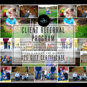 Client Referral Program!