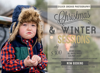 Holiday & Winter Sessions 2016