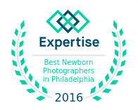 Best Newborn Photographers in Philadelphia Award for SIlver Orchid Photography
