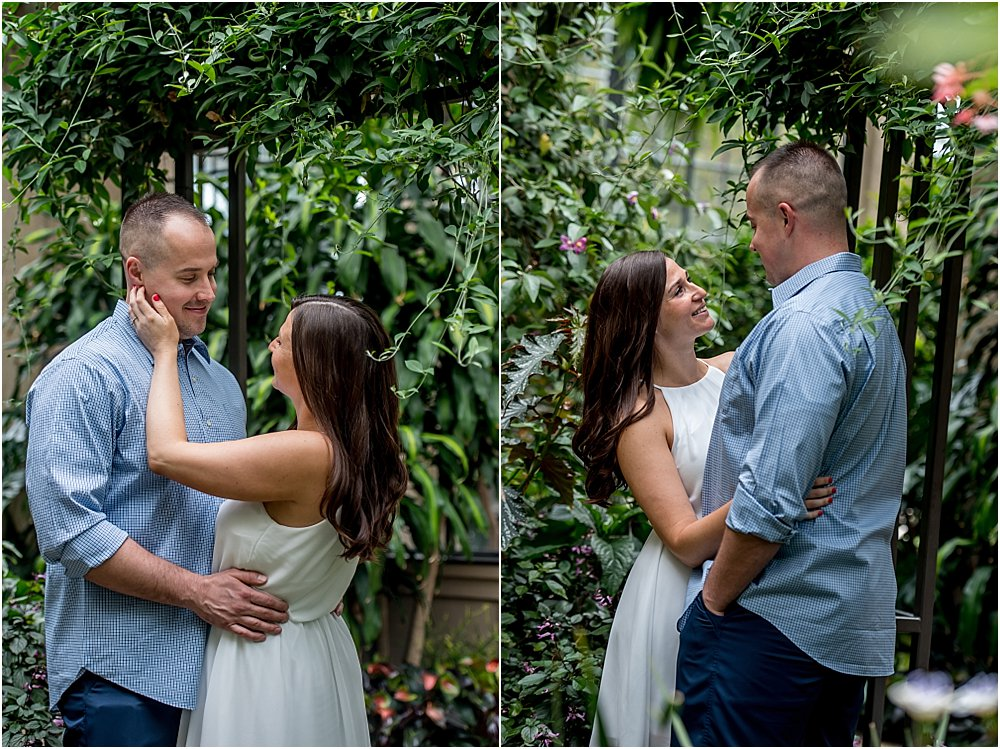 Silver Orchid Photography, Silver Orchid Portrait Photography, Engagement Session, Engagement Photography, Longwood Gardens, Kennett Square, PA