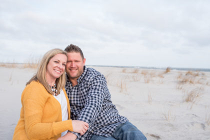 Sara +  Nick's Sea Isle Engagement Session