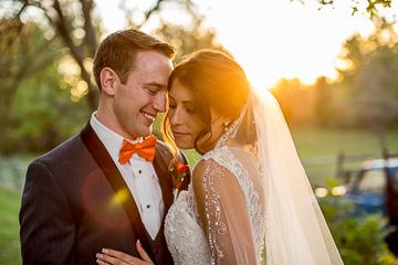 Richie + Carly | Backyard Wedding : Souderton, PA