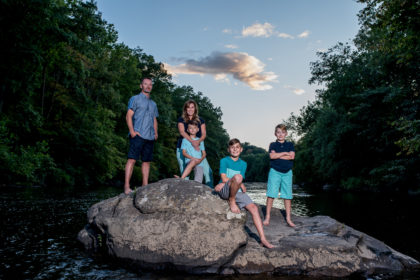 Perkiomen Trail with The Williams Family | Lifestyle + Portrait