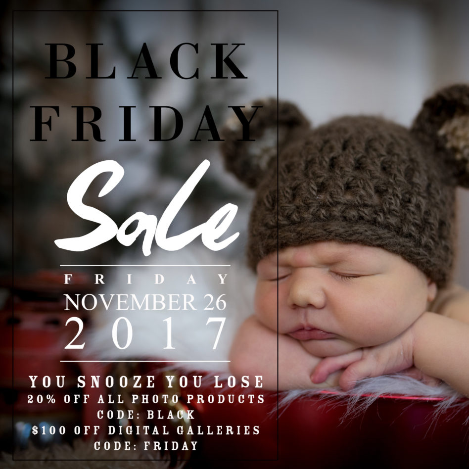 Black Friday 2017, Sales, Promotions, Silver Orchid Photography