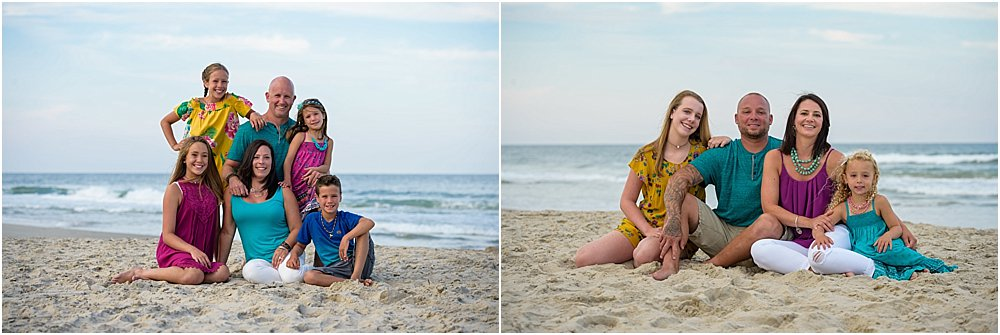Silver Orchid Photography, OBX, Outer Banks, NC, Summer sessions, Beach sessions, Outdoor sessions, Family sessions, Family Photography, Color coordinating, Family Vacation, Daniel Pullen