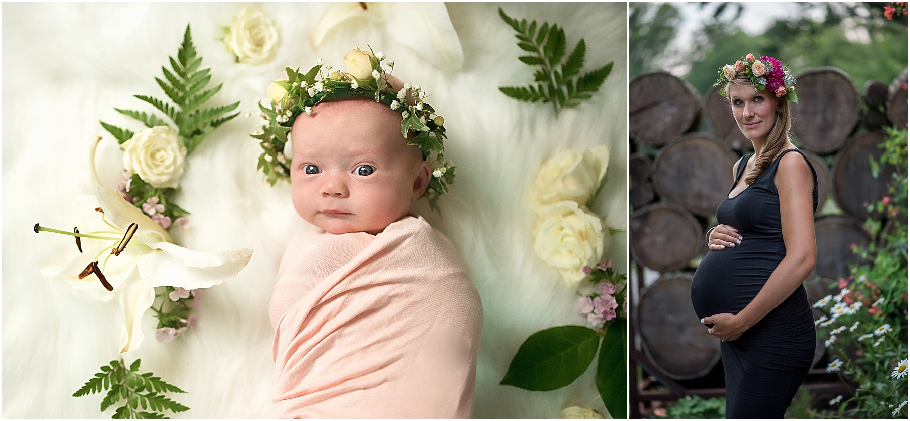 Silver Orchid Photography, Silver Orchid Photography Portraits, Flowers, Flower Crown, Flower garden, Spring
