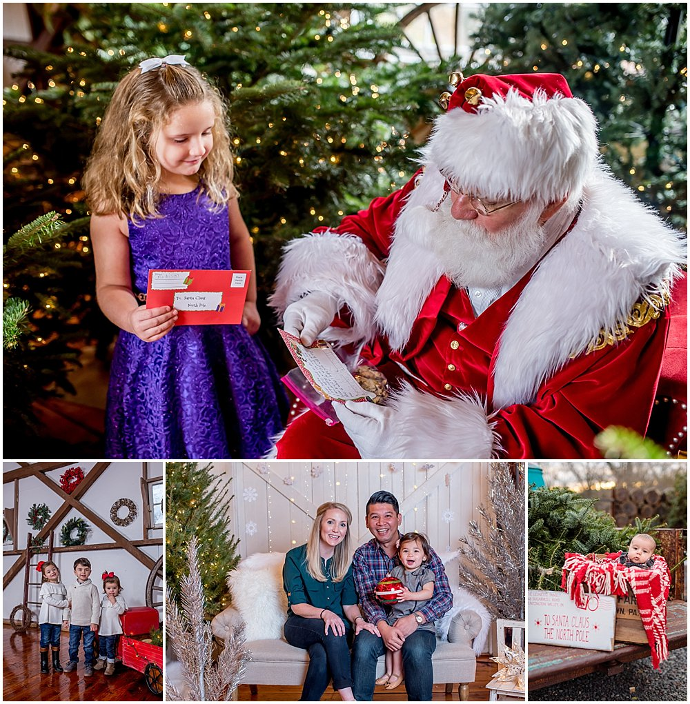 Silver Orchid Photography, Silver Orchid Photography Portraits, Portraits, Portrait Photography, Cool Yule, Skippack, PA, Skippack Village, Holiday Event, Holiday Photos, Santa, Little Blue Truck, Winter Wonderland, Merry and Bright