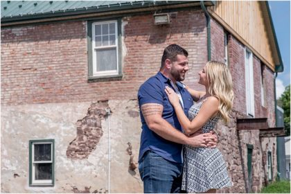 In Home Engagement Session | Zac + Erin