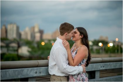 Silver Orchid Photography, Silver Orchid Photography Portraits, UPenn, University of Pennsylvania, University City, West Philly, Philadelphia, PA, Engagement, Engagement Session, Summer Session, Outdoor Session, Philadelphia Skyline