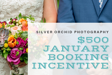 $500 Wedding Booking Incentive!