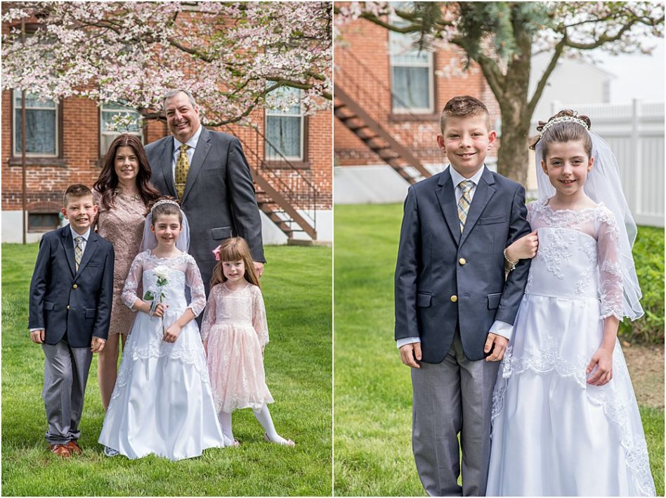 Silver Orchid Photography, Silver Orchid Photography Portraits, Perkiomenville, PA, Communion Sessions, Studio Sessions, Simple, Vintage, Church, Communion, First Communion