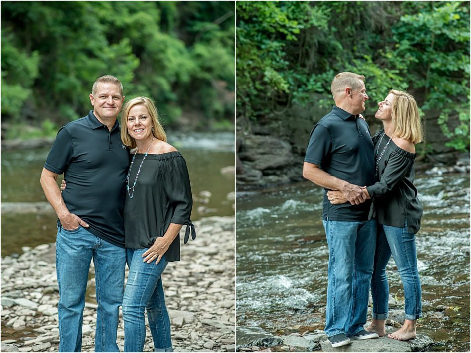 Silver Orchid Photography, Silver Orchid Photography Portraits, Perkiomenville, PA, Nature, Outdoor Session, Creek, Creek Sessions, Spring Sessions, Summer Sessions