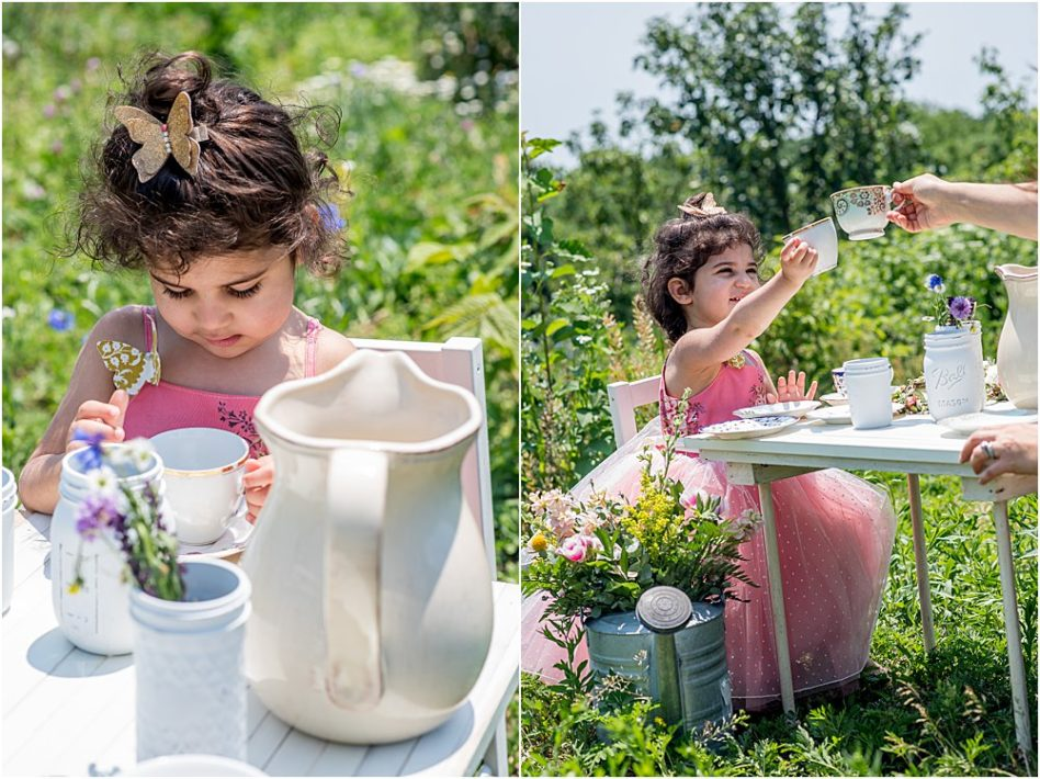 Silver Orchid Photography, Silver Orchid Photography Portraits, Perkiomenville, PA, Florals, Flower Session, Tea Party, Tea Party Sessions, Spring Sessions, Summer Sessions