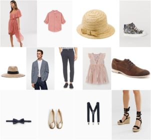 A Garden Party Style Board