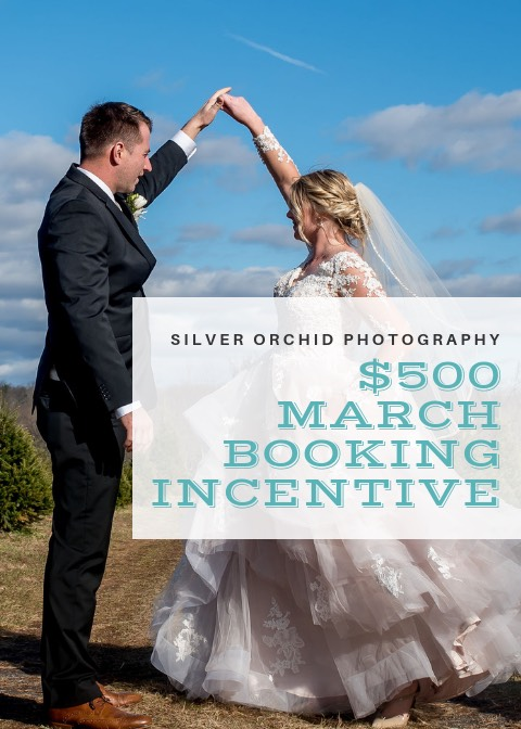 Silver Orchid Photography, Wedding, Booking incentive