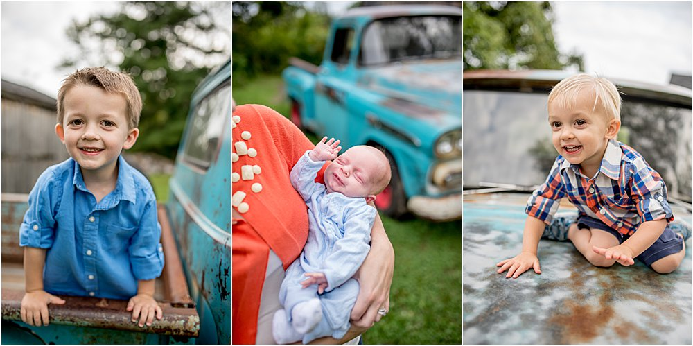 Silver Orchid Photography, Silver Orchid Photography Portraits, Southeastern PA, PA, Family Sessions, Outdoor Session, Little Blue Truck, Family Milestones