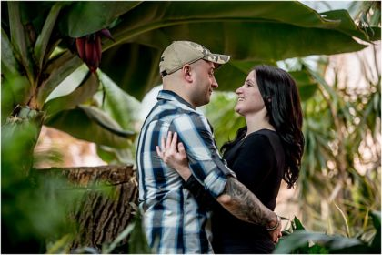 Ott's Greenhouse Engagement Session | Jon + Sandy