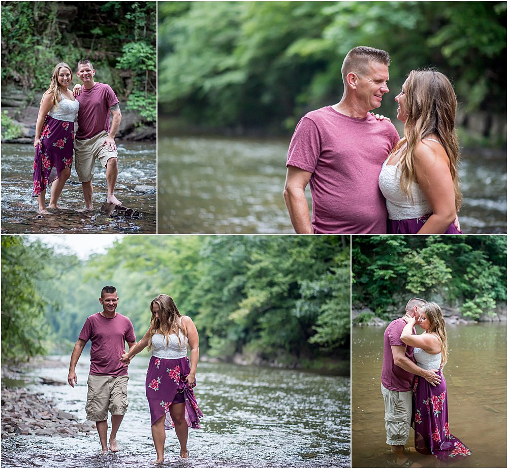 Silver Orchid Photography, Silver Orchid Photography Portraits, Perkiomen Creek, Montgomery County, PA, Engagement Session, Summer Session
