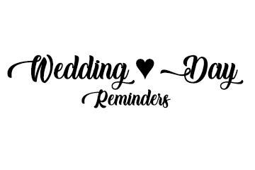 Wedding Survival, Pro Tips