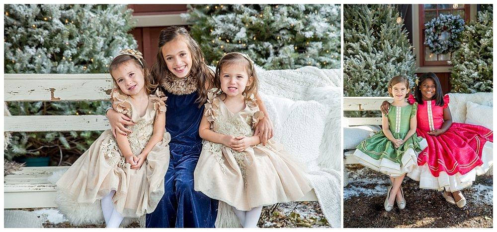 Silver Orchid Photography, Silver Orchid Photography Portraits, Christmas Portraits, Cool Yule, Cool Yule 2019, Cool Yule Favorites, Winter Wonderland, Pictures With Santa, Skippack PA