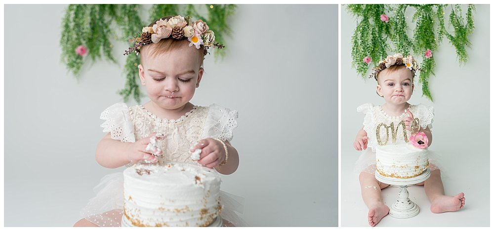 Silver Orchid Photography, Silver Orchid Portraits, Portrait Photographer, PA Portrait Photographer, Cake Smash, Cake Smash Session, One Year, First Birthday, Southeastern PA