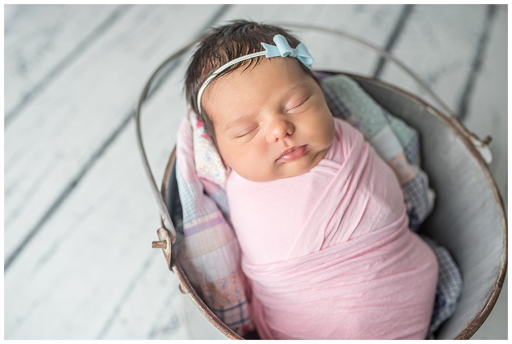 Silver Orchid Photography, Silver Orchid Portraits, Newborn Photography, Newborn Session, Baby Girl, Studio Session