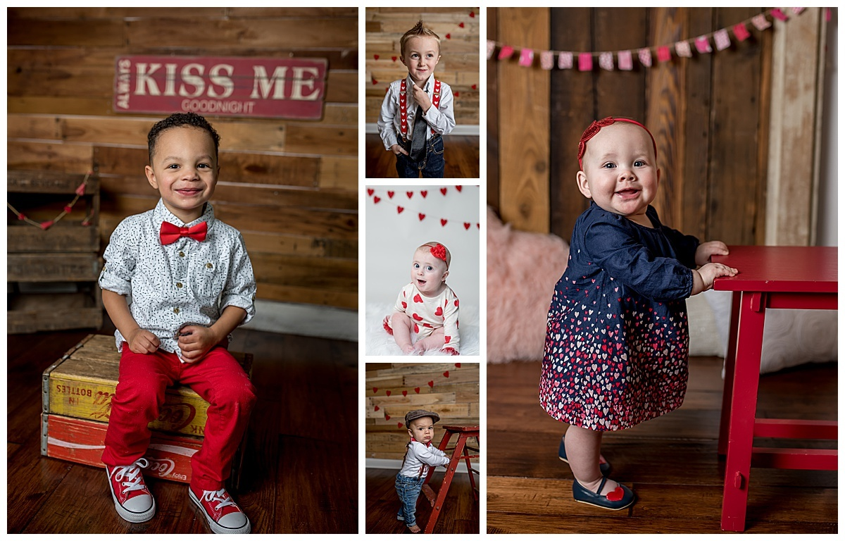 Valentine outfit, bowties, rufles