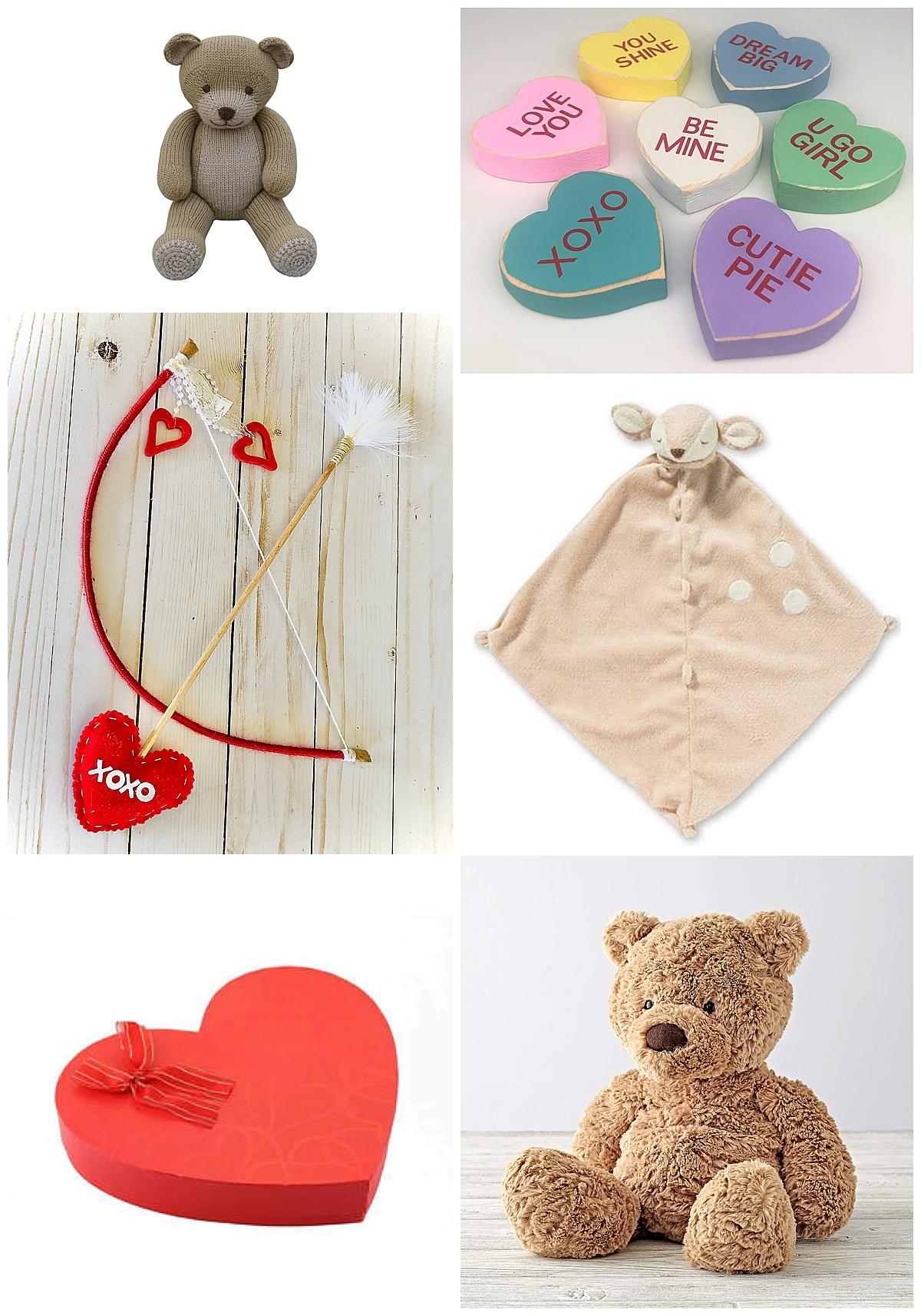 valentine, heart shaped box, teddy bear, lovie