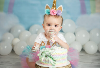 Silver Orchid Photography, First Birthday Session