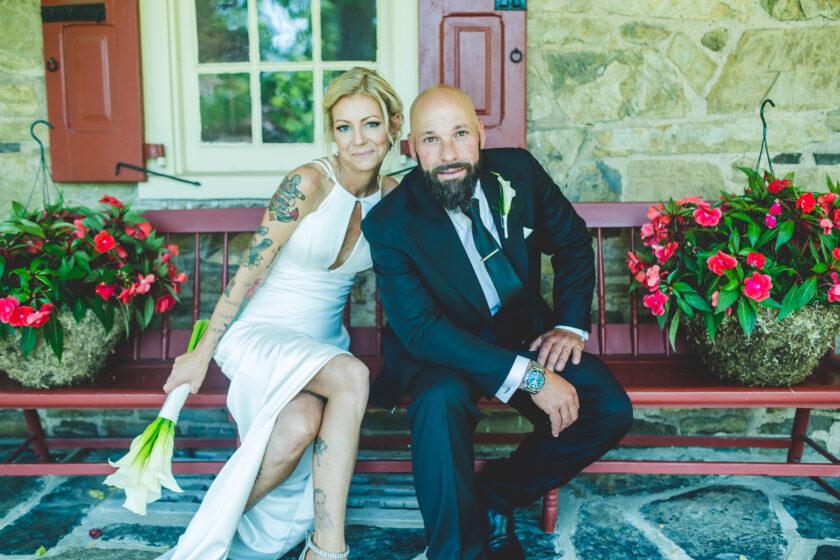 Montagano Wedding, Joseph Ambler Inn